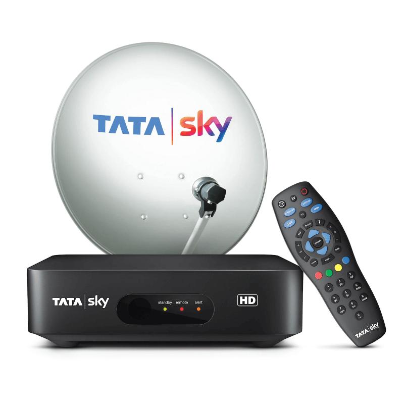 Tata sky HD Box Hindi Lite SD 1Month Free