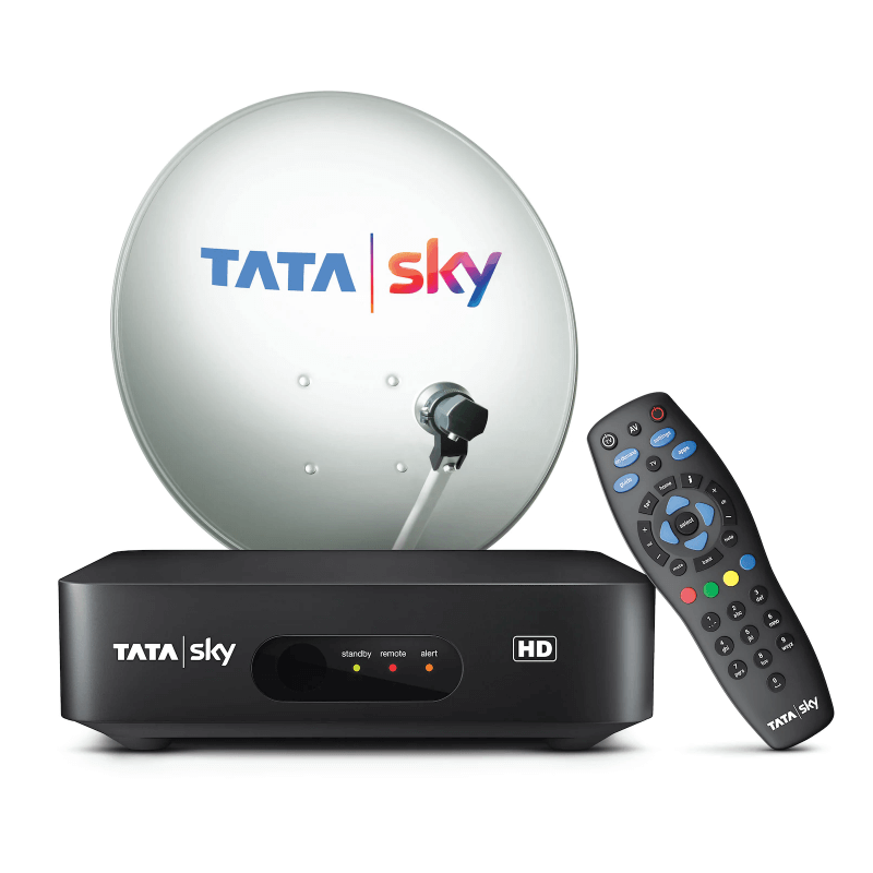 6 Month Free Tamil Lite Plus New HD With Tatasky HD Box.